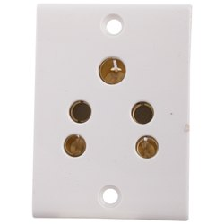 Press Fit Gold 6 Amp. Sockets