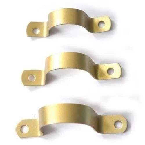Heavy Golden Pipe Fitting Clamp