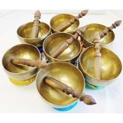 7 Chakra Singing Bowl Healing Set