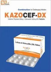 Cefixime 200mg Dicloxacillin 500mg Tab 90ms