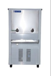 Blue Star Stainless Steel Drinking Water Cooler With 2 Taps