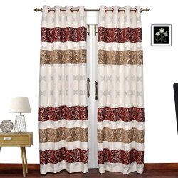 Ariana Bando Premium Eyelet Door Curtain