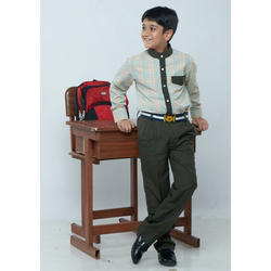 Bharat Garment Cotton Boys School Uniform
