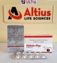 Mecobalamin 500MCG Carbonyl Iron 100MG Folic Acid 1.5MG Vitamin B6 3MG & Vitamin C 75MG