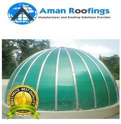 Plain Black FRP Domes