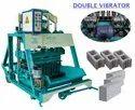 Double Vibration Vibrator Block Making Machine