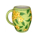Floral Pottery Mug