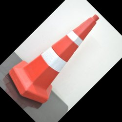 Red PVC Traffic Cone Weight 4.5 Kg