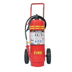 Life Guard Mild Steel Mechanical Foam Wheeled Fire Extinguisher