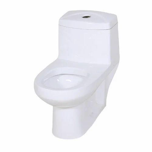 more photos 9ef87 4c506 White Ceramic Aqua Toilet Commode