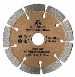 Checkmate Gold 9Seg Granite Cutting Blade