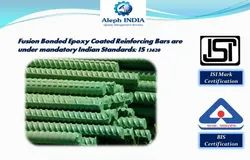 ISI Mark Certification for Fusion Bonded Epoxy Coated Reinforcing Bars