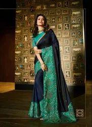 Pure Georgette,Chiffon,Brasso,Shahi,Vichitra Sarees 7996