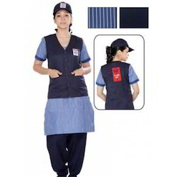 HP Petrol Pump Uniform For Female. Koti, Kurta, Salwar