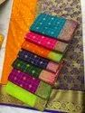 pure silk designer saree