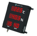 Large Temperature And Humidity & Time Indicator 2