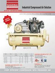 Saimona Air Mech Pvt Ltd 0.5 HP Compressor, Intake: 0-200 cfm