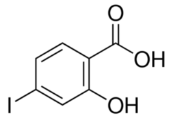 3-Hydroxy-4-iodo benzoic acid