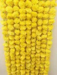 Hyperboles ( Artificial Marigold Flower Garland) Gende Ke Phool Ki Mala