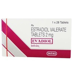 Estradiol Valerate Tablets 2 mg