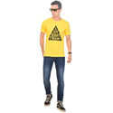 Cotton Casual Wear Mens Printed T-shirt