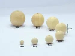 Hot Sale Plain Wood Bead