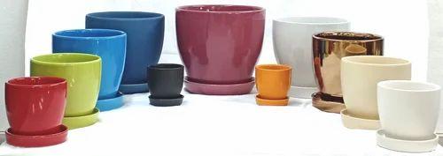 Small Glazed Ceramic Pot - Small Ceramic Glazed Pot