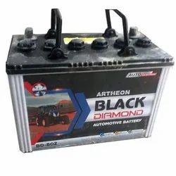 拖拉机Artheon Black Diamond汽车电池,保修:12个月,型号名称/数字:BD-80Z