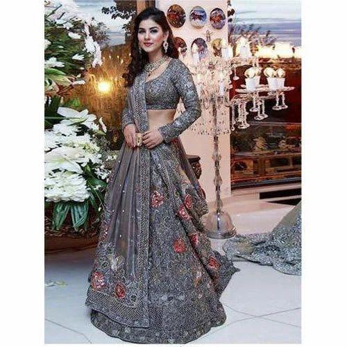 Ladies Lehenga Choli Ladies Embroidered Lehenga Choli Manufacturer From Surat