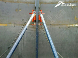 Hydraulic Tank Lift Jacking System