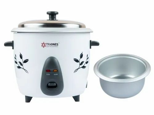 Triones Electric Rice Cooker 1.8ltr (Single  Bowl)