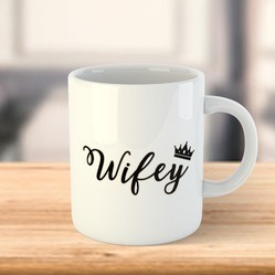 Personalized Sublimation White Photo Mug