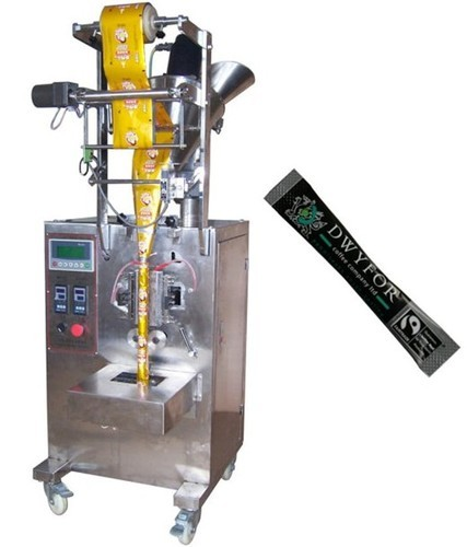 Cup Filler 100 - 250 Grams Tea Packaging Machine, Capacity: 1200-1500 Pouch Per Hour