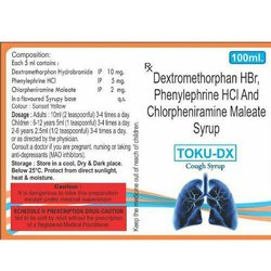 Dextromethorphan HBr, Phenylephrine HCI and Chlorpheniramine Maleate Syrup