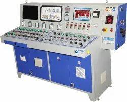 Mobile Asphalt Drum Mix Plant Control Panel