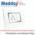 Square Modular Wall Plates