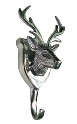 Deer Head Metal Coat Hook