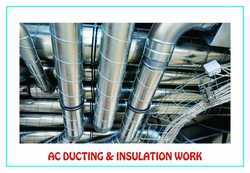AC Ducting And Insulation, Capacity: 10 to 20 Tons