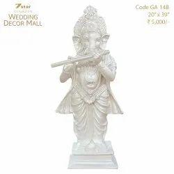 GA14B Fiberglass Ganesha Sculpture
