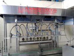 Servo Base Liquid Filling Machine
