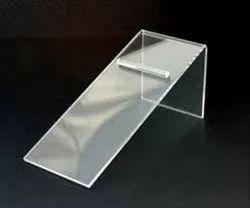 Rectangular Acrylic Shoe Stand