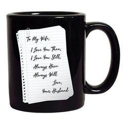 Full Black Coffee Mug