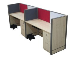Modular Linear Computer Workstation