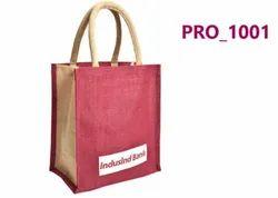 Red Jute Promotional Bag, Capacity: 2kg