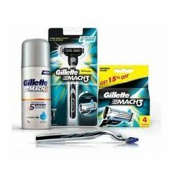 Gillette Shaving Kit, for shaving, Clamsheel Packaging, Bottle