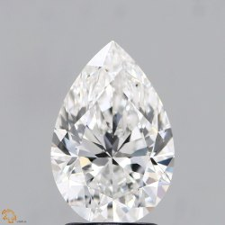 CVD Diamond 2.17ct G VVS2 Pear Shape Diamond IGI Certified