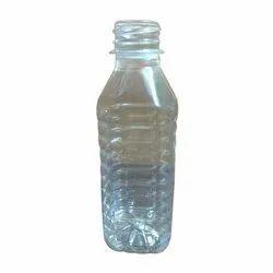 Transparent Plastic Water Bottle, Capacity: 200 mL