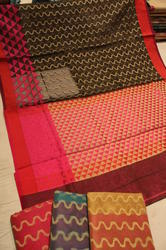 Super Net Cotton Saree