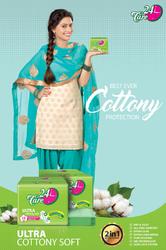 Ultra Thin Cottony Sanitary Pad