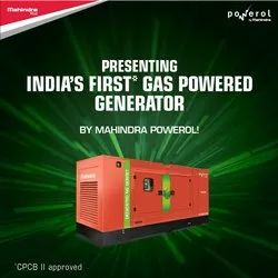 Natural Gas Powered 125 KVA Generator
